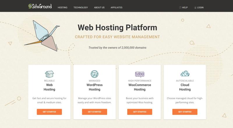 Sitegournd homepage
