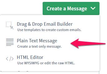 plain-text-message