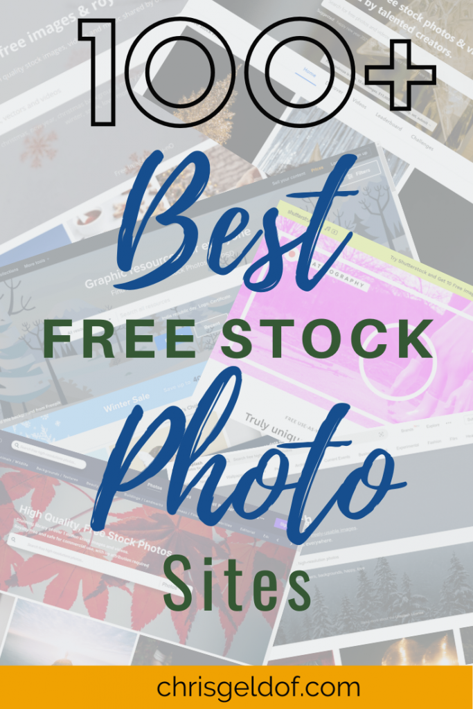 106 Best Free Stock Photo Sites